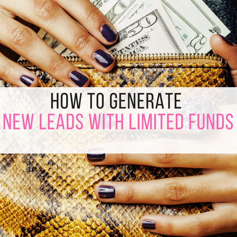 How To Generate New Leads in your Business with Limited Funds