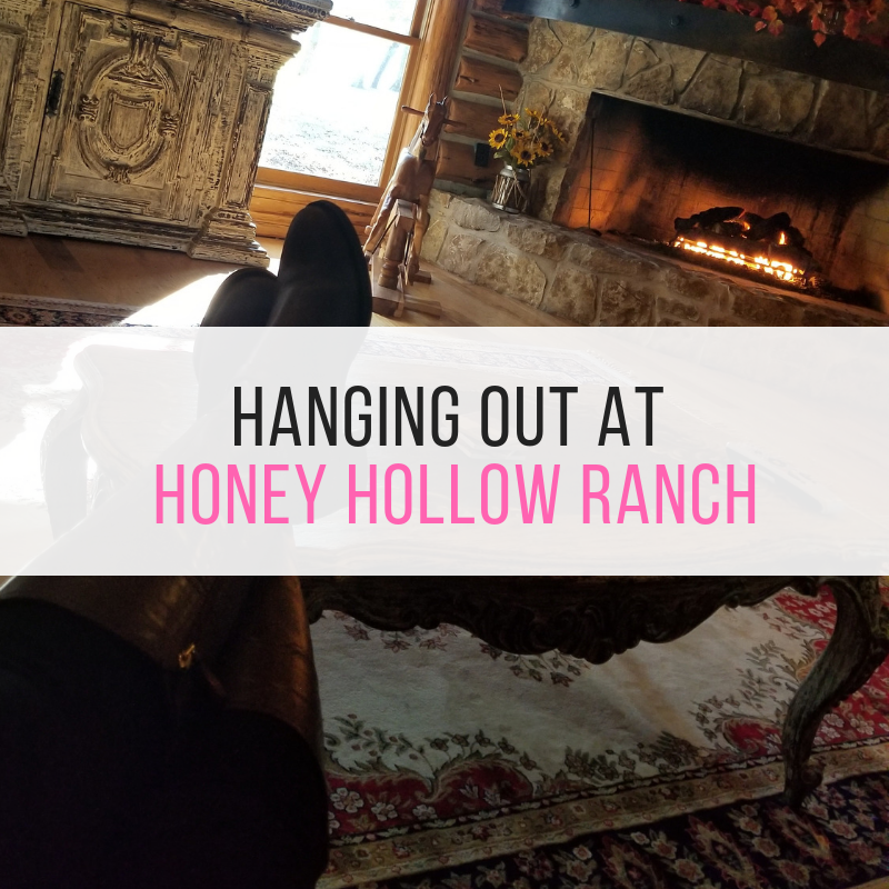 Hanging out at Honey Hollow Ranch