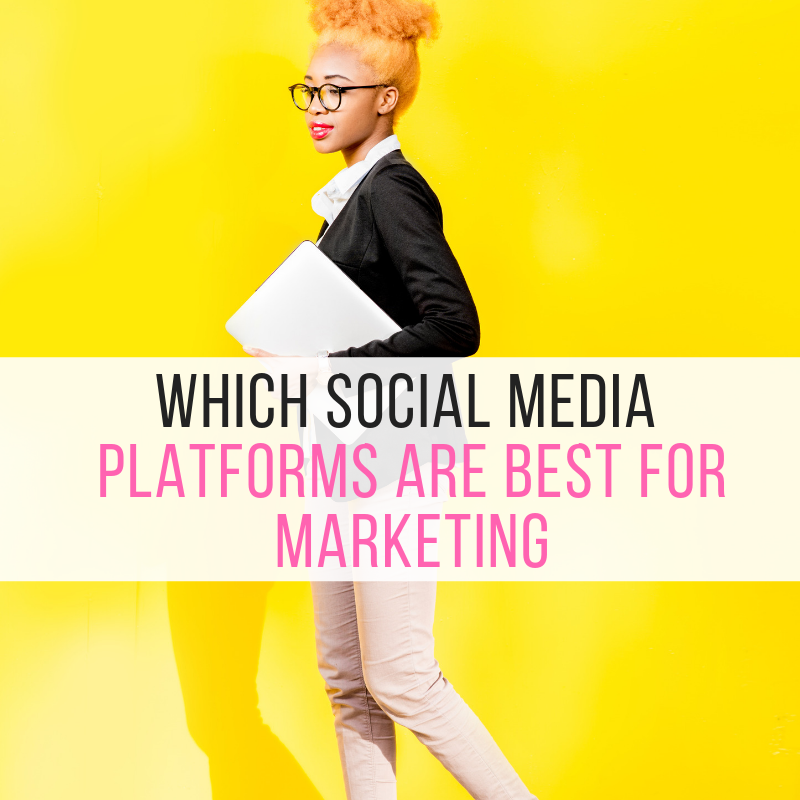 Which Social Media Platforms Are Best for Marketing According to your Business Type.
